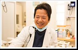 医療機関とは思えない、溢れる笑顔